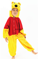 Children's adult animal performance costume stage costume costume Pooh bear pink leopard horse Deer snake 2019