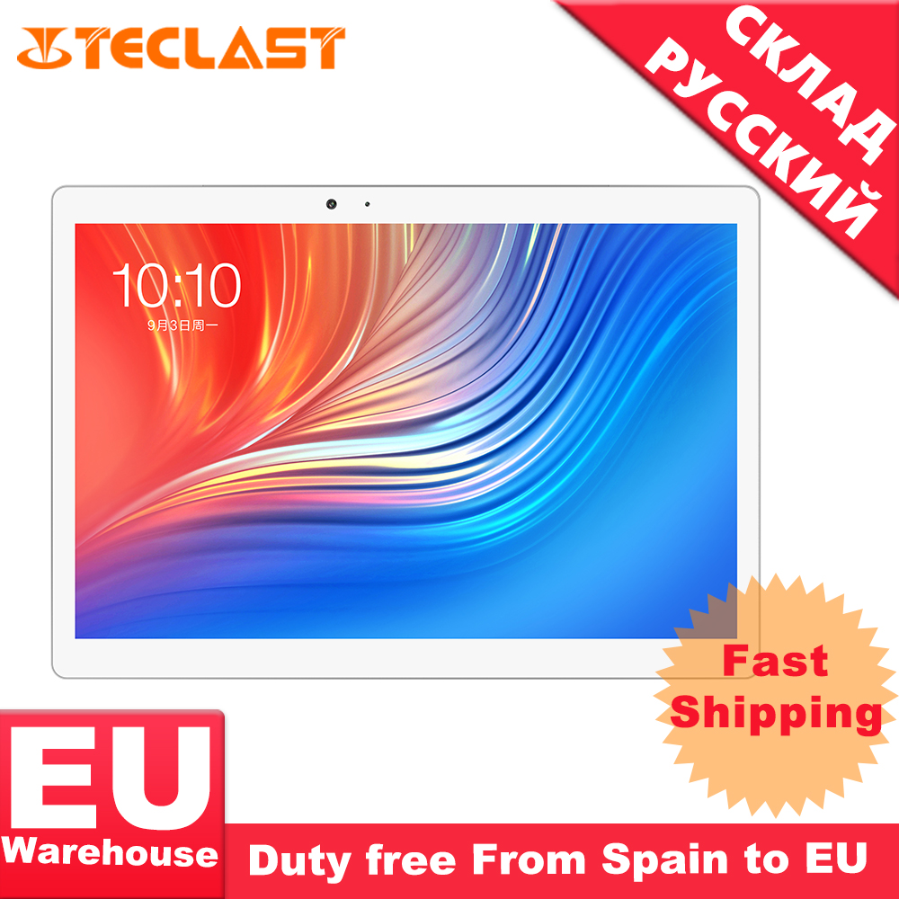 Teclast T20 Helio X27 Deca Core 4GB RAM 64G double 4G SIM Android 7.0 OS tablette 10.1 pouces