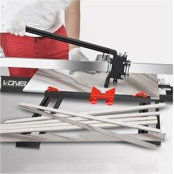 Manuelle Fliesen Cutter Fliesen Push-Messer 800MM 1000MM 1200MM Hohe Präzision boden Fliesen Cutter Artefakt Einstellen die halterung Werkzeuge