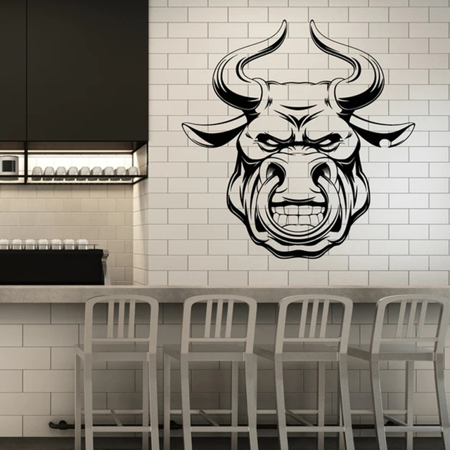 Angry Bull Wall Sticker 4