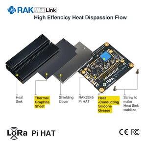 Image 5 - LoRaWAN بوابة وحدة المكثف RAK2245 فيلينك التوت بي قبعة الطبعة على أساس SX1301 تشمل نظام تحديد المواقع بالوعة الحرارة 8 قنوات