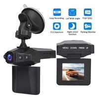 Cámara dashcam DVR VGA de conducción para coche, cámara dashcam con espejo de radar de 170 grados, cámara de cámara 1080P para auto Full HD VERSIÓN NOCTURNA cámara de conducción