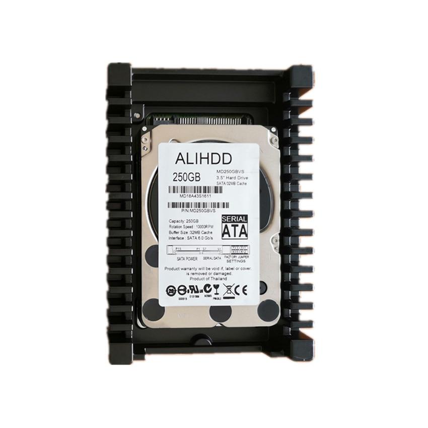 VelociRaptor 250GB SATA 3.5 pouces 32 mo 6.0 Gb/s 10000RPM serveur disque dur garantie pour 1yera