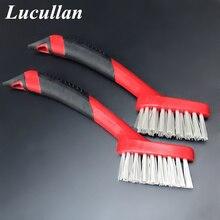 Lucullan ארגונומית אחיזת גומי החלקה אוטומטי פירוט מברשות לקצץ, עור, חריץ פער, פנים ניקוי כלים