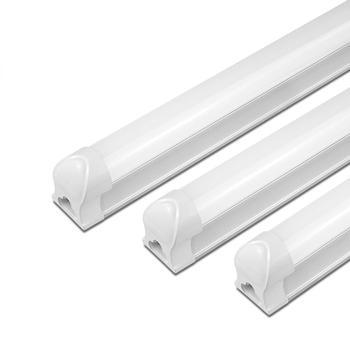 220V LED lámpara de tubo T5 6W 10 W/T8 8W 12W llevó la luz del Gabinete de PVC barra LED fluorescente de plástico T5 T8 luz armario cocina iluminación