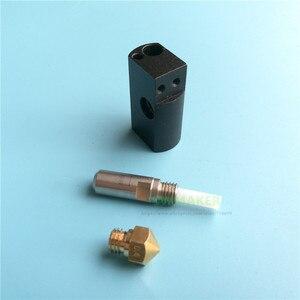 Image 5 - Запасные части для 3D принтера Wanhao, Дубликатор 6, комплект hotend D6 MK11, картридж нагревателя, комплект термопара PT100