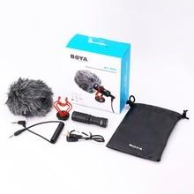 BOYA BY-MM1 cardioid 3,5 мм Аудио Видео Запись микрофон микро наружная фотография для смартфона DJI Osmo Nikon Canon DSLR