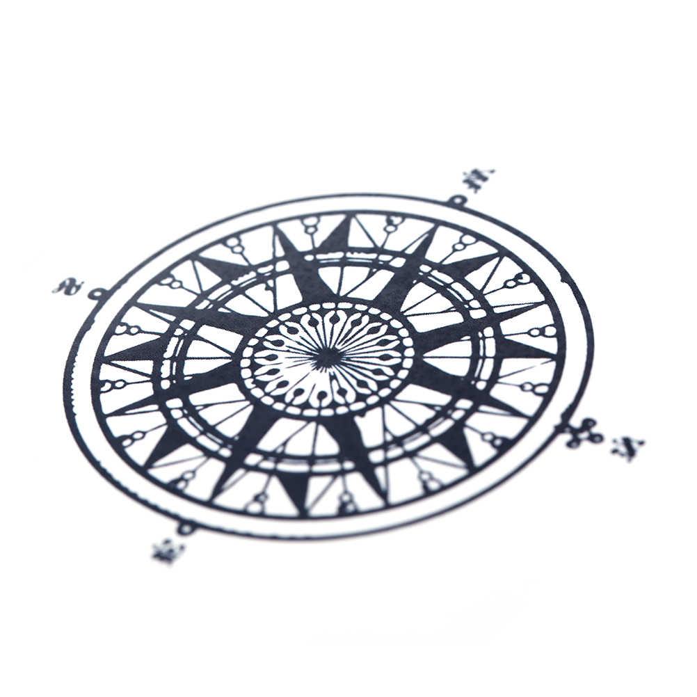 Wodoodporna tymczasowa naklejka tatuaż kuroshitsuji kontrakt Symbol kompas anime tatto flash tatoo fałszywe tatuaże dla kobiet mężczyzn