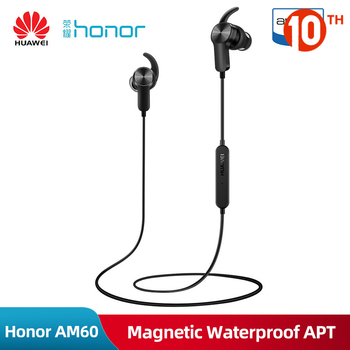 Original Huawei Honor AM60 Wireless Bluetooth Sport Earphone Magentic Waterproof Apt-x Stereo Headset With Microphone For Xiaomi
