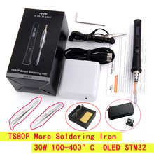 Soldering-Iron-Tool TS80 Mini Iron-Tips Oled-Display Digital Portable More Smart