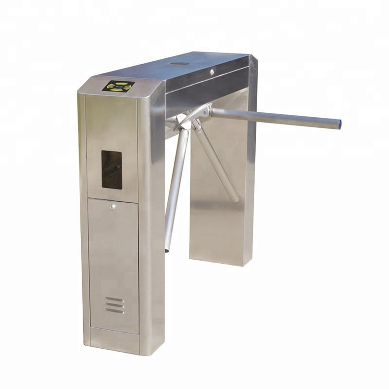 Low Price Fully Automatic  Stainless Steel Tripod Turnstile Tripod revolving door for smart access control Frid school access|  - title=