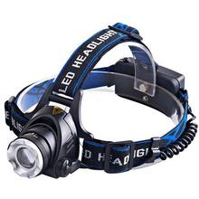 800LM 3.7V Miner'S Lamp Tool Lighting Fishing Lights Headlamp Outdoors Riding Motion Black LED Flashlight Head Lamp Fishing Tool