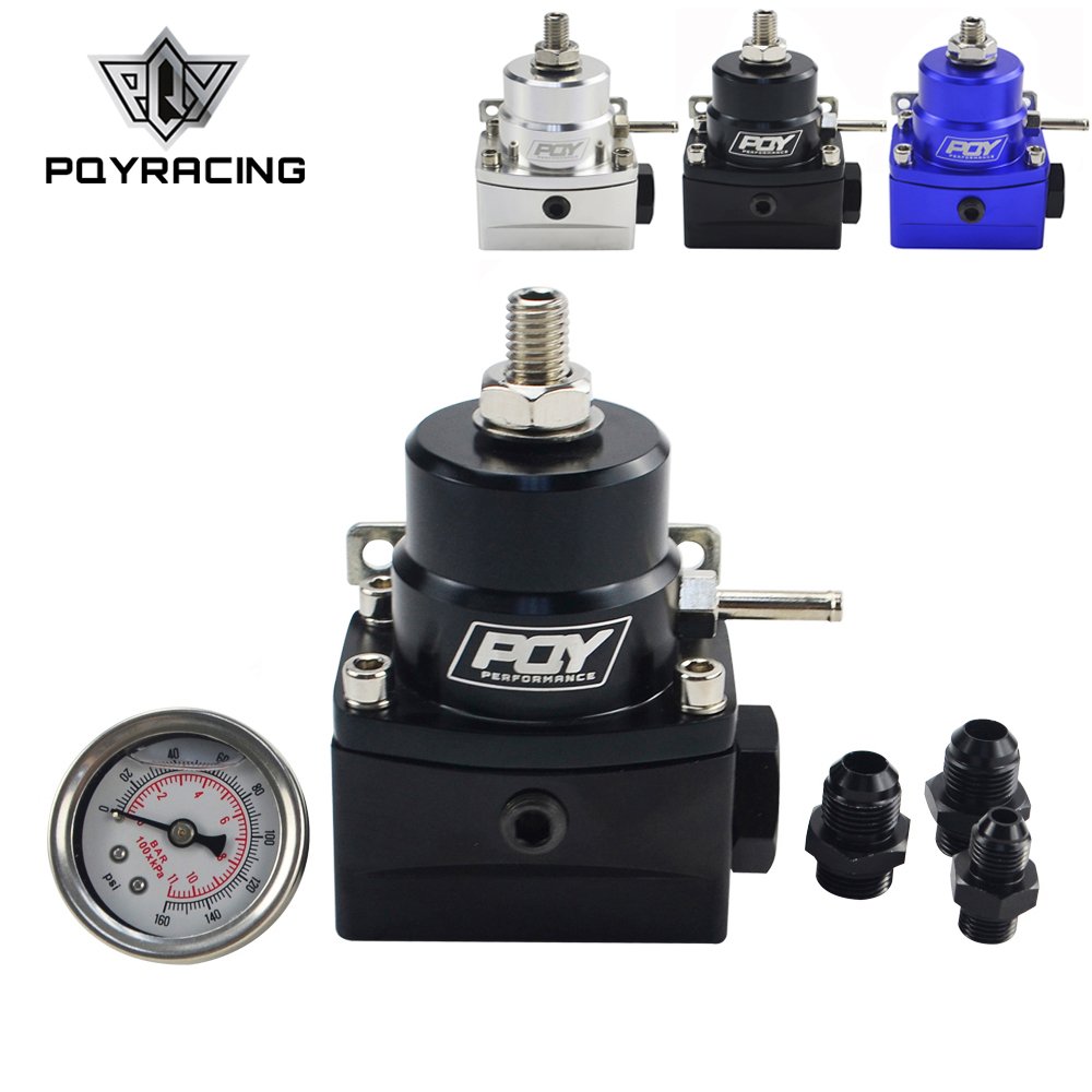 AN8 منظم ضغط الوقود العالي ث/boost-8AN 8/8/6 EFI منظم ضغط الوقود مع مقياس PQY7855