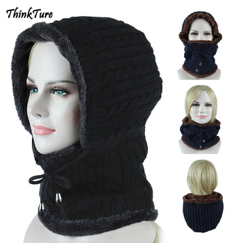 Winter Fleece Thermal Skiing Hat Snowboarding Mask Cover Keep Warm Windproof Hiking Ski Caps Men Women Balaclava Neck Scarf winter bicycle windproof motorcycle wind stopper face mask hat neck helmet cap thermal fleece balaclava hat for men