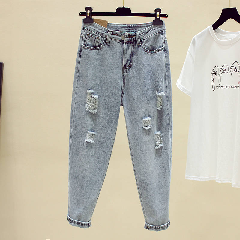 Fa1002 2019 new autumn winter women fashion casual Denim Pants womens clothing high waisted jeans skinny