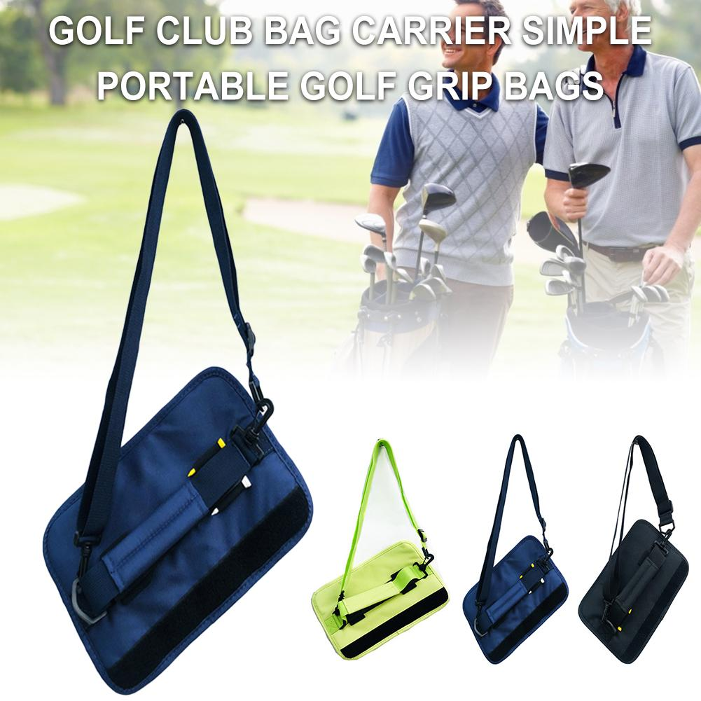 Mini Golf Bag Golf Grip Simple Tote Bag Portable With 3-4 Clubs