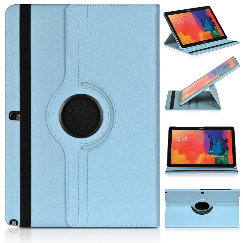 Folding Holder Cover For <font><b>Samsung</b></font> Galaxy Note 10.1 N8000 N8010 <font><b>GT</b></font>-N8020 (<font><b>GT</b></font>-N8000) Case 360 Rotating Folio Stand Pu Leather Cases image