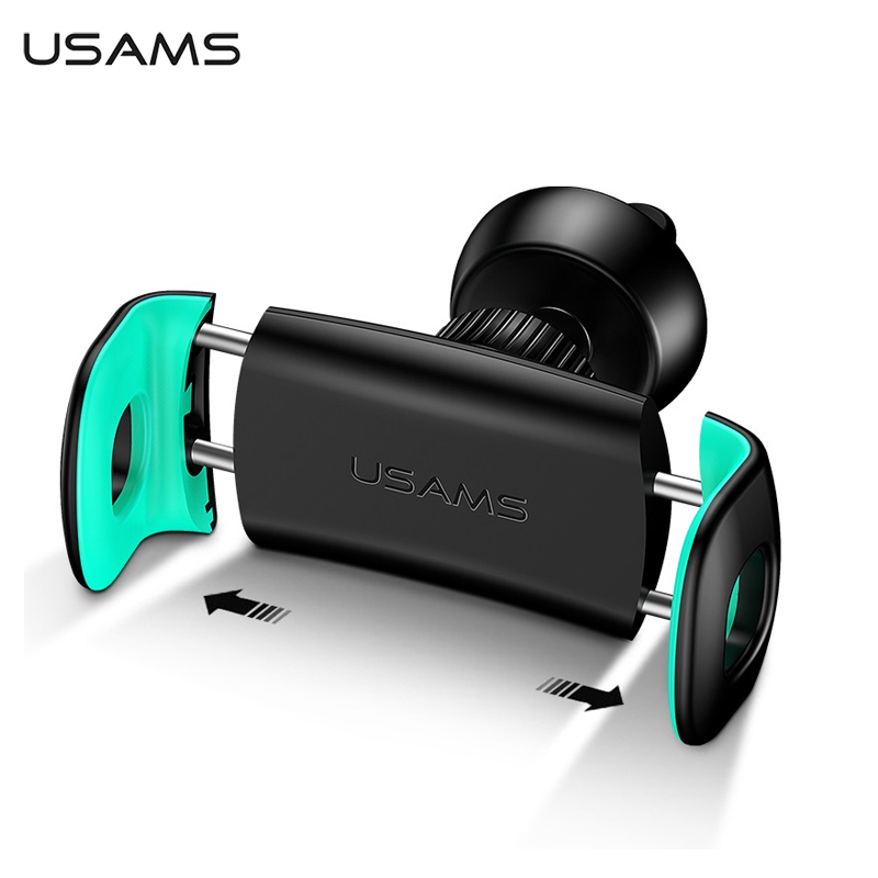 New Air Vent Mount Car Phone Holder for iPhone Samsung Car Holder Adjustable 360 Rotating USAMS Updated Car Phone Holder Stander