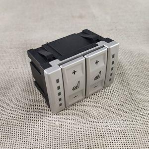 Image 4 - Nova prata & preto assento interruptor de controle botão aquecimento bs7t19k314ab 6m2t19k314ac para ford mondeo mk4 S MAX galaxy mk 3