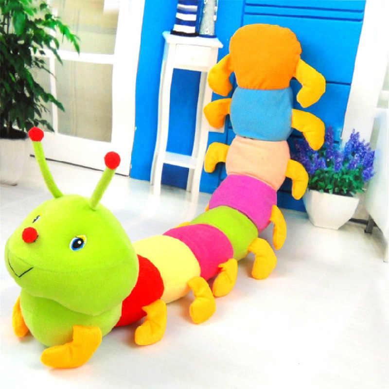 キャタピラ人形ぬいぐるみカラフルな毛虫ムカデ大昆虫メーカー卸売代わりに Wechat のビジネス環境
