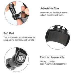 Image 4 - SHOOT 3 Way Pivot Arm Bicycle Clamp Handlebar Seatpost Pole Holder Mount for GoPro 9 8 7 6 5 Xiaomi Yi 4k Sjcam Eken Accessories