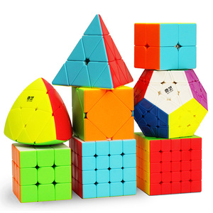 QIYI Magic Cube 2x2x2 3x3x3 4x4x4 5x5x5 Speed Magic Cubes Puzzle Cubo Toy Children Kids Gift Toy Adult