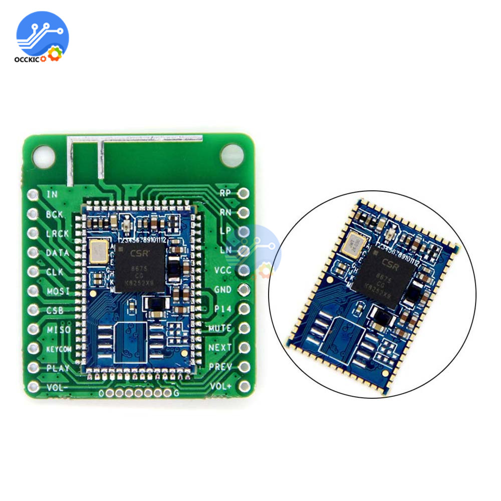 I2S Output CSR8675 Wireless Bluetooth 5.0 Audio Module Digital Speaker Audio Sound Board