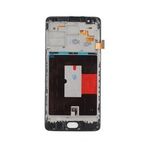 For Oneplus 3/3T A3000 A3003/5 A5000/One A0001 LCD Display Touch Screen Digitizer Assembly + Frame Replacement Screen Parts 5 5 lcd for oneplus two 2 a2001 lcd display touch screen digitizer assembly replacement for oneplus 2 lcd