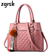 цены Women Top-handle Bags Handbag Famous Brand Shoulder Bag Pu Leather Ladies Hand Bags Evening Fashion Messenger Bags Bolsos