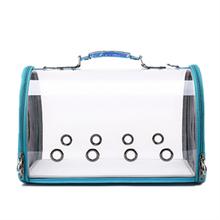 Cat Cage  Pet Outdoor Travel Backpack Dog Plush Transparent Space Capsule Shoulder Bag Slings Fashion Eco-Friendly
