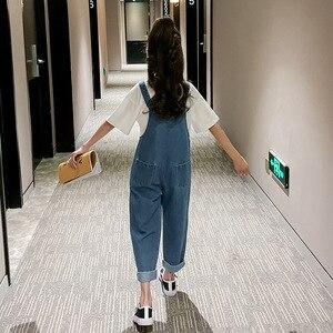 Image 2 - 2020 ฤดูใบไม้ผลิใหม่มาถึงสั้นเด็กOverallsกางเกงสำหรับสาวแฟชั่นเด็กกางเกงยีนส์กางเกงหลวมกางเกงหญิงกางเกง,#8329