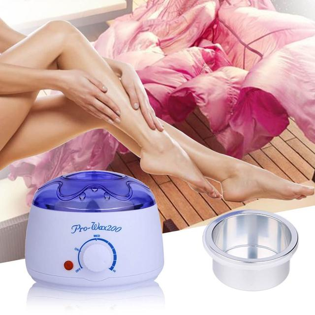 Wax Heater Electric Hair Removal Depilation Paraffin Bath Mini SPA Hand Epilator Foot Wax Warmer Cream