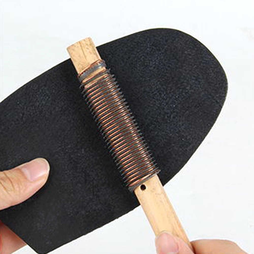 Rubber Zolen Anti-Slip Houten Mes Diy Repareren Schoen Accessoriessole Reparatie Tool Voor Zakelijke Toepasselijk Rubberen Hak Voorvoet