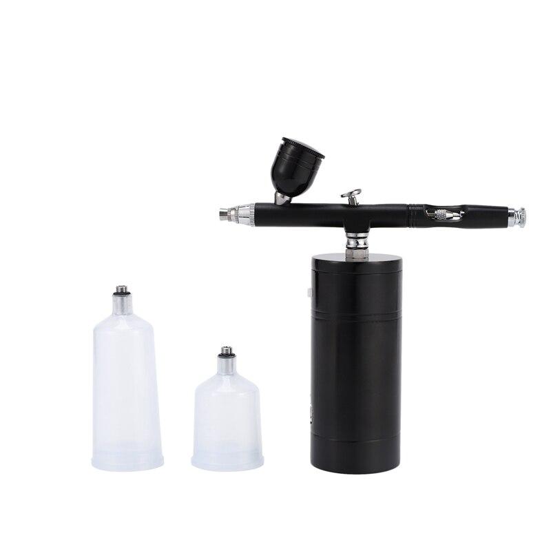 Беспроводной Аэрограф Комплект, аэрограф компрессор, высокая емкость Чернила чашки Аэрограф Для ногтей краски торт окраски