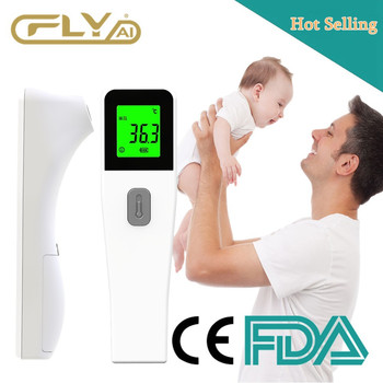 Baby Thermometer LCD Measurement Non-contact Body IR Children Fever Forehead Digital Infrared Use Adult Temperature Termometro