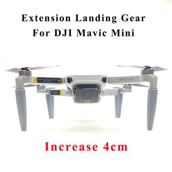 Mavic Mini końcówka nogi do statywu wspornik Skid podwyższone amortyzujące stabilizatory Protector noga dla DJI Mavic Mini akcesoria tanie i dobre opinie Landing Gear For DJI Mavic Mini