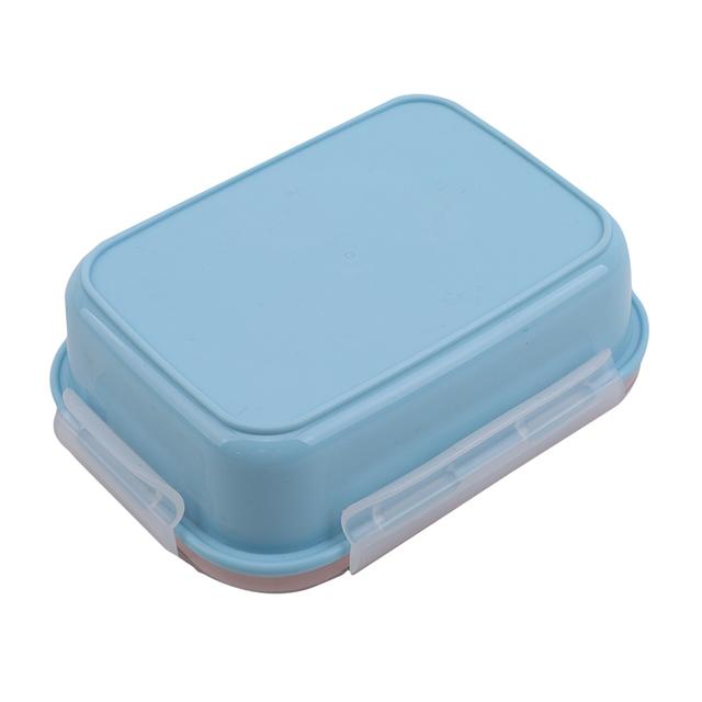 Ze stali nierdzewnej pojemnik Bento jednolity kolor pudełko na Lunch dla dzieci szczelny dzieci Bento pudełko na Lunch pojemnik na jedzenie pudełko tanie i dobre opinie EH-LIFE STAINLESS STEEL Miska Stałe SD463357