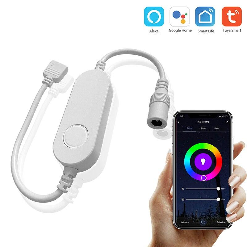 12V Tuya graffiti smart home Alexa voice control WIFI light with controller LED strip controller Lighting Accessories