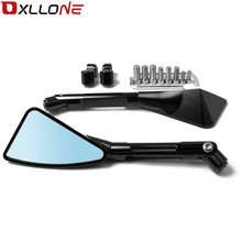 1 pai Universal Motorcycle Rearview mirror side FOR HONDA NC700V CTX 700/700N