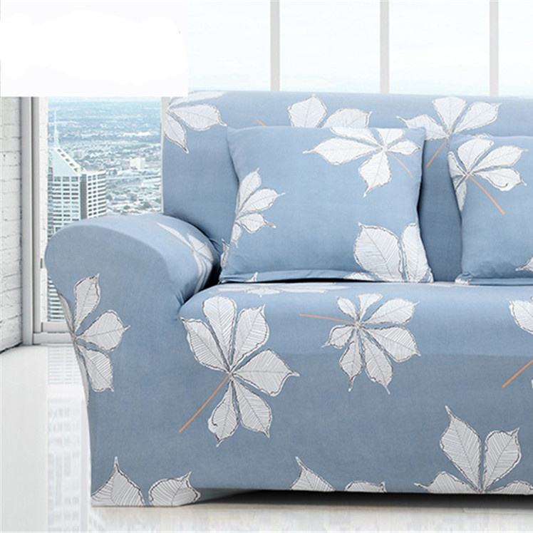 Image 4 - Simple Sofa Cover Elastic For Living Room Printed Cover For Sofa Slipcovers Stretch 1/2/3/4 SeatSofa Cover