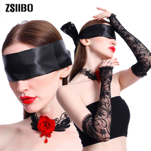 Sex Toys For Women Sexy Lingerie Handcuffs Couple Adult Game Eye Mask Gloves Necklace Exotic Accessories