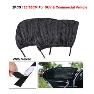 2Pcs Car Window Sun Shade Rear Side Windows Kids Baby Uv Protected Cars Sun Shades Car Rear Side Window Sun Visor Shade Side SUV
