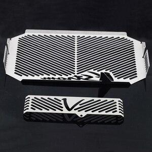 Image 5 - หม้อน้ำ Grille GUARD COVER Protector สำหรับ SUZUKI DL650 DL 650 V Strom VStrom 2004 2010 09 น้ำมัน COOLER ป้องกันครอบคลุมหมวก