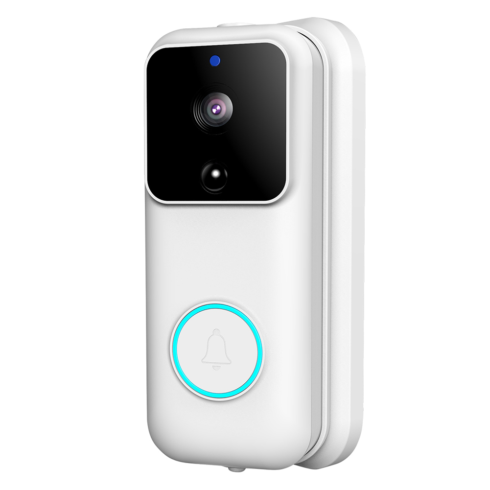 Smart Doorbell Wireless WiFi 1080P Remote Monitoring Video Voice Two-way Intercom Anti-theft Video Doorbell can CSV