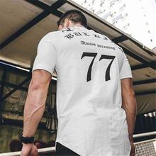 T-Shirt Men 2019 Autumn New Short Sleeve O-Neck T Shirt Brand Clothing Fashion fitness Cotton Tee Tops clothing