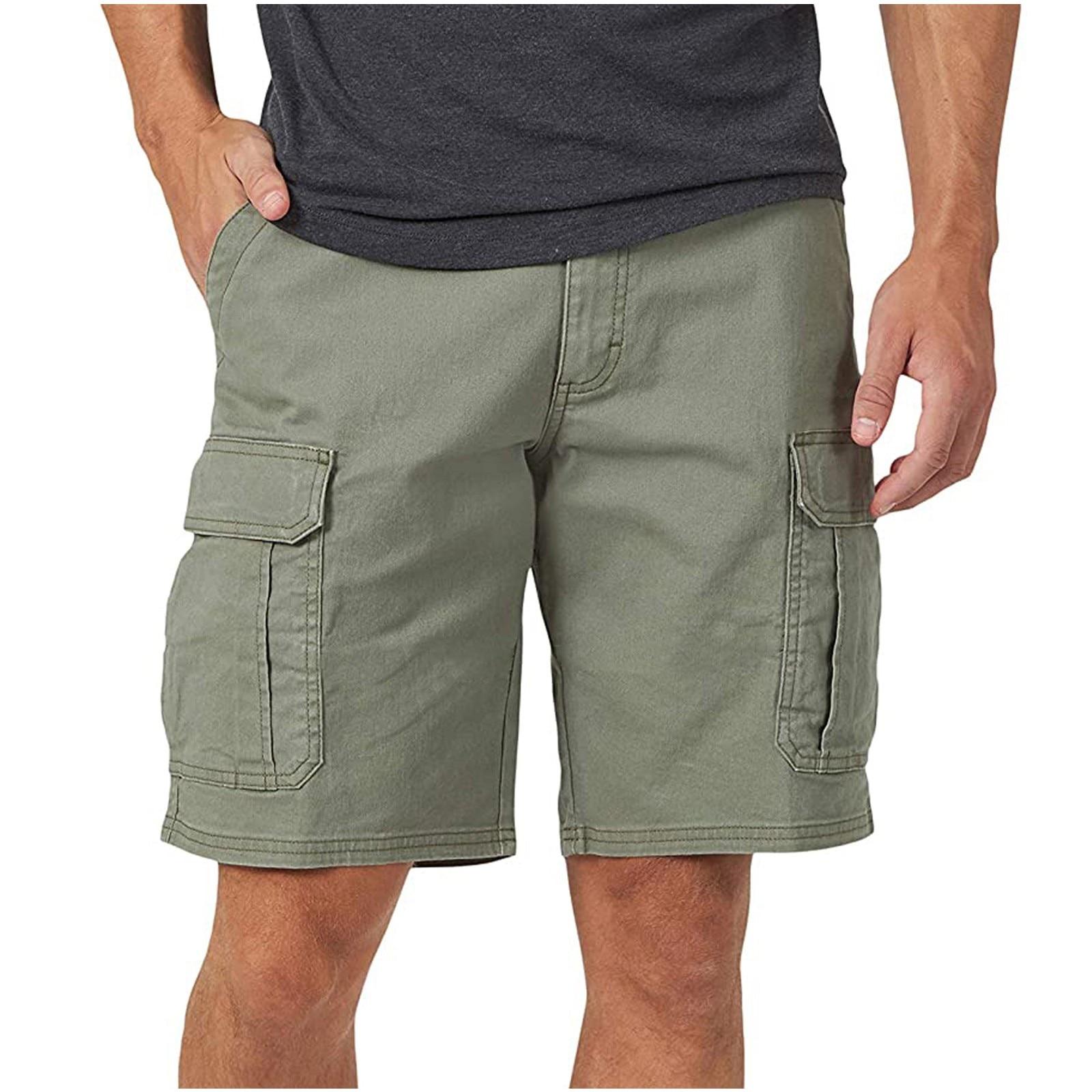 2021 модные мужские брюки карман на молнии устойчивость для досуга рабочие шорты штаны, подходят детям в возрасте свободные летние шорты для ...