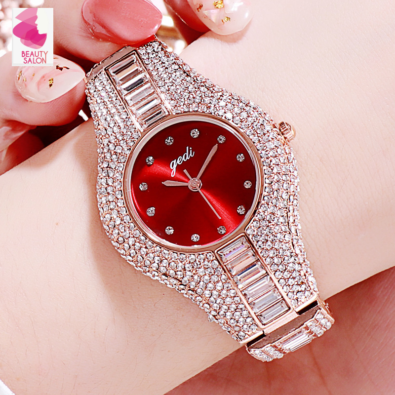 12 Color New Fashion Women's Watches Top Quality Woman Girls' Rhinestone Crystal New Year Gift Watches Dress Quartz Wristwatches