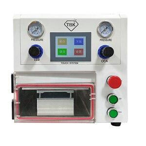 TBK-108P 14 inches curved screen repair vacuum laminating machine for edge LCD OCA laminator refurbishing machine(China)