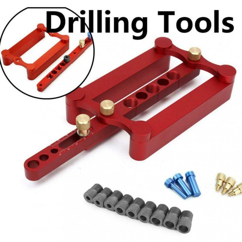 Self-Centering Positioning Fixture Metric Pin Wood Drilling Drill Tool 6/8/10mm Power Tools Accessories Replacement