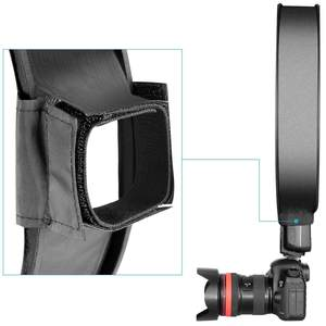 Image 5 - 30cm/40 centimetri Photography Studio Fotografico Portatile Mini Rotonda Soft Box Studio di Ripresa Tenda Diffusore SoftBox Universale per DSLR Camera